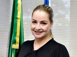 A secretária de Estado de Justiça, Direitos Humanos e Cidadania (Sejusc), Caroline Braz